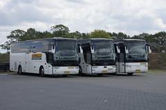 Van Hool YX 15 Acron Ter Doest met kenteken 16-BLH-1, Van Hool TX 17 Acron Ter Doest 36 met kenteken 84-BGZ-5 Van Hool T 917 Acron met kenteken BX-ZH-26 in Hengevelde 16-06-2019 (marcelwijers) Tags: van hool yx 15 acron ter doest met kenteken 16blh1 tx 17 36 84bgz5 t 917 bxzh26 hengevelde 16062019 touringcar bus reisebus autocar autobus busse buses bussen coach nederland niederlande netherlands pays bas
