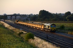 66514 aa Harrowden Jct 140718 D Wetherall (MrDeltic15) Tags: freightliner class66 66514 harrowdenjunction midlandmainline
