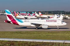 D-ABZL Eurowings Airbus A320-216 (buchroeder.paul) Tags: eddl dus dusseldorf düsseldorf nordrheinwestfalen north rhinewestphalia germany deutschland europe europa ground boden dabzl eurowings airbus a320216 dawn morgen