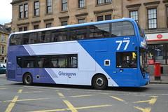 First AD Enviro 400MMC 33398 SK19EOL - Glasgow (dwb transport photos) Tags: first alexander dennis enviro 400mmc bus decker 33398 sk19eol partick glasgow