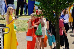 Fashion (PD3.) Tags: girl girls ladies lady milf milfs smile grandstand races racing derby 2019 epsom downs epsomdowns surrey investec