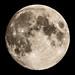 Moon seen from Denver Colorado USA 6/15/19