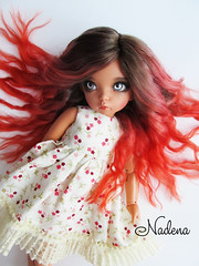 IMG_3044 (nadena14) Tags: wig bjdwig minifeewig bjd bjdminifee handmadedoll bjddoll dollphoto fairyland fairylandminifee minifee bjdphotographycoloringh minifeeceline