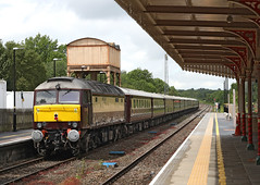 57601 + 57313 Class 57 (Roger Wasley) Tags: 57601 57313 westcoast railways kemble station gloucestershire class 57 trains diesel locomotive rail tour charter