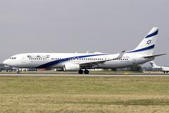 4X-EHC | El Al Israel Airlines | Boeing B737-958(ER)(WL) | CN 41554 | Built 2014 | VIE/LOWW 05/04/2019 (Mick Planespotter) Tags: aircraft airport nik sharpenerpro3 4xehc el al israel airlines boeing b737958erwl 41554 2014 vie loww 05042019 elal vienna b737 schwechat