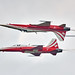 Patrouille Suisse fly-by