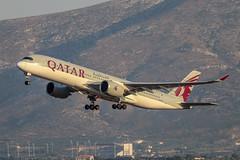 Qatar Airways - A7-ALA - A350-941 (Athanasios Ozrefanidis) Tags: lgav a350 qatar