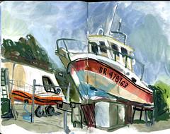 brest25 (marin71) Tags: art drawing sketch urbansketchers illustration trip