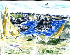 brest19 (marin71) Tags: art drawing sketch urbansketchers illustration trip