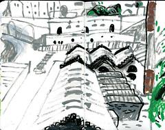 brest13 (marin71) Tags: art drawing sketch urbansketchers illustration trip