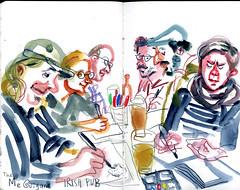 brest09 (marin71) Tags: art drawing sketch urbansketchers illustration trip