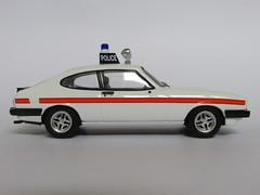 Corgi Vanguards VA10805 Ford Capri 3.0 S Police (4) (Capri Models) Tags: jam sandwich 999 patrol emergency constabulary police sussex scale 143 capri ford 30 3000 s 30s 3000s mark iii 3 mk mk3 voiture auto car diecast model vanguards corgi