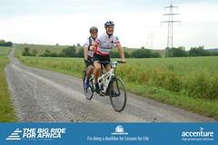 A little off roading (stuarthill11) Tags: tandem bike biking helmet smiles germany big ride for africa lessons life