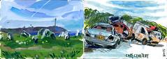brest29 (marin71) Tags: art drawing sketch urbansketchers illustration trip