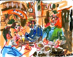 brest27 (marin71) Tags: art drawing sketch urbansketchers illustration trip