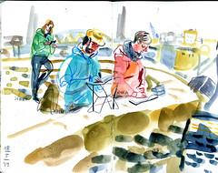 brest14 (marin71) Tags: art drawing sketch urbansketchers illustration trip