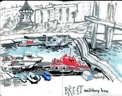 brest11 (marin71) Tags: art drawing sketch urbansketchers illustration trip