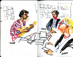 brest04 (marin71) Tags: art drawing sketch urbansketchers illustration trip
