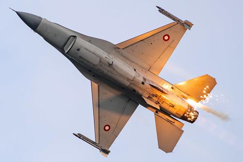 RDAF General Dynamics F-16A E-011 Ex USAF 82-1011