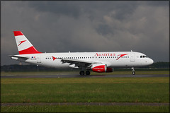 OE-LXD Airbus A320-216 Austrian Airlines (elevationair ✈) Tags: ams eham schiphol amsterdam schipholairport netherlands europe avgeek aviation airplane plane aircraft arrival landing airbus lcc budgetairline lowcostcarrier austrian austrianairlines a320 airbusa320216 oelxo
