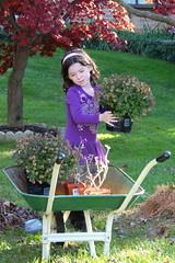 thegardengirl (michaelmaguire4) Tags: girl gardening
