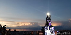 June 15, 2019 - A beautiful sunset at Coors Field. (David Canfield)