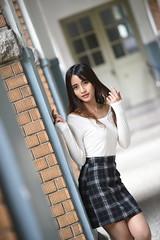 波比0024 (Mike (JPG直出~ 這就是我的忍道XD)) Tags: 波比 台灣大學 nikon d750 model beauty 外拍 portrait 2018 poppy