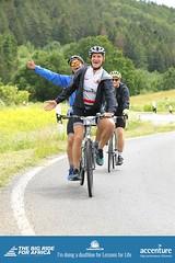 Still smiling 75 or so km in (stuarthill11) Tags: tandem bike biking helmet smiles germany big ride for africa lessons life