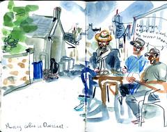 brest21 (marin71) Tags: art drawing sketch urbansketchers illustration trip