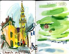 brest20 (marin71) Tags: art drawing sketch urbansketchers illustration trip
