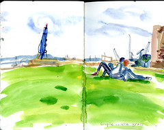 brest12 (marin71) Tags: art drawing sketch urbansketchers illustration trip