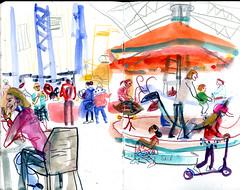 brest10 (marin71) Tags: art drawing sketch urbansketchers illustration trip