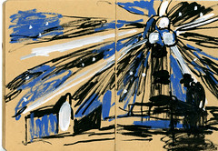 brest45 (marin71) Tags: art drawing sketch urbansketchers illustration trip