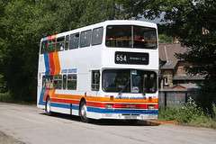Preserved United Counties 654 (H654 VVV) (SelmerOrSelnec) Tags: preserved stagecoach unitedcounties leyland olympian alexander h654vvv rowsley peakrail peakparkpreservedbusgathering rally runningday bus