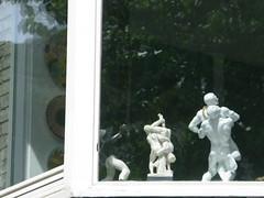 verzamelwoede (andrevanb) Tags: amsterdam bosenlommer wrestling greek roman statue sculpture replica art