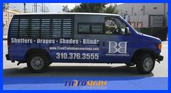 B&B Windows (Tadeo GDS) Tags: bb windows coverings vehicle wrap vinyl california burbank tadeo gds large format printing