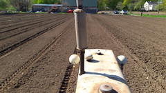 marking rows for potatoes (BelmontAcresFarm) Tags: april 2019 tractor rows belmontacres belmont farm
