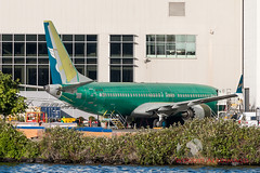7618 737-8 Oman Air (737 MAX Production) Tags: b737 boeing boeing737max boeing737 boeing7378 boeing7378max 76187378omanair