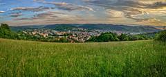 Jarní podvečer nad Vsetínem (Radebe27) Tags: jaro spring vsetín valassko wallachian zlinskykraj ceskarepublika czechrepublic krajina panorama landscape hdr