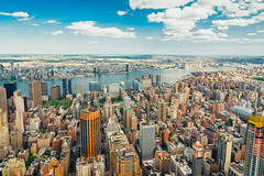 New York City Aerial View (Hanna Tor) Tags: california new york city usa trip travel sky building tourism skyline architecture modern clouds view skyscrapers manhattan places aerial destination manhattanskyline hannator sony7rm3