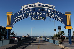 Santa Monica Pier (joseph a) Tags: sign santamonicapier santamonica losangeles la california route66 neonsign