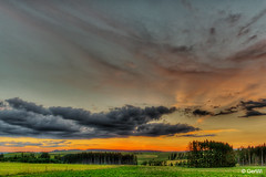 Sonnenuntergang (GerWi) Tags: sonnenuntergang sunset zedtwitz himmel sky clouds wolken abenddämmerung