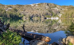 Castle Lake, a glacial lake in the Trinity Mountains of Northern California. (lhboudreau) Tags: