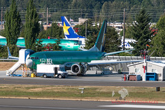7607 737-8 200 Ryanair (737 MAX Production) Tags: b737 boeing boeing737max boeing737 boeing7378 boeing7378max 76077378200ryanair