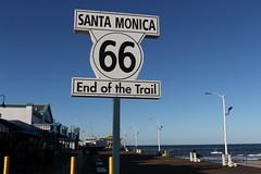End of the Trail (joseph a) Tags: sign santamonicapier santamonica losangeles la california route66