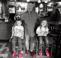 Me & The Monsters (ska 1963) Tags: lumbertubspub pub drmartens docmartens docs unionjack unionflag oxblood grandson grandaughter grandchildren angels bar northampton northamptonshire