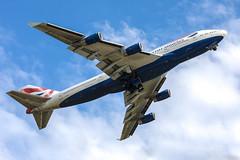 British Airways Boeing 747 (Jakub Z) Tags: bournemouth bournemouthairport bournemouthairshow 747 b747 boeing7478 british britishairways 747bournemouthairport hurnairport britishairwaysbournemouthairport britishiairwaysb747hurn 747bournemouth airways boeing jumbojet jumbojetdisplay taxi