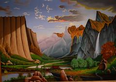LA Roberts - Yosemite Valley, 1930s at Cincinnati Art Museum - Cincinnati OH (mbell1975) Tags: cincinnati ohio unitedstatesofamerica la roberts yosemite valley 1930s art museum oh museo musée musee muzeum museu musum müze museet finearts fine arts gallery gallerie beauxarts beaux galleria painting american