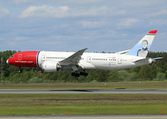 LN-LND (wiltshirespotter) Tags: stockholmarlanda essa boeing 787 7879 norwegian
