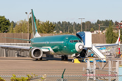 7600 64611 N953BA 737-8 Air Italy NTU (737 MAX Production) Tags: b737 boeing boeing737max boeing737 boeing7378 boeing7378max 760064611n953ba7378airitalyntu